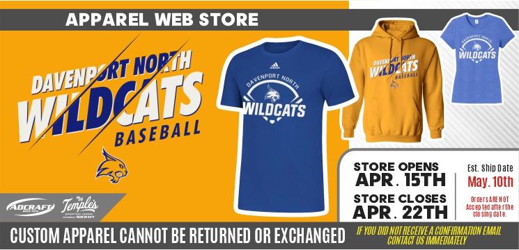 Davenport Wildcats Baseball 2021