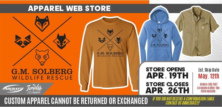 G.M. Solberg Wildlife Rescue Spring 2021