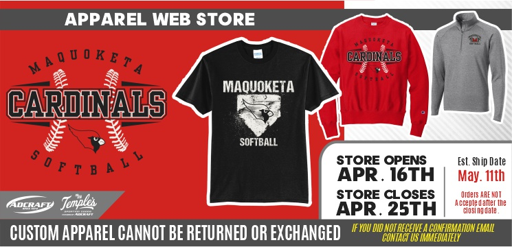 Maquoketa Softball Spring 2021