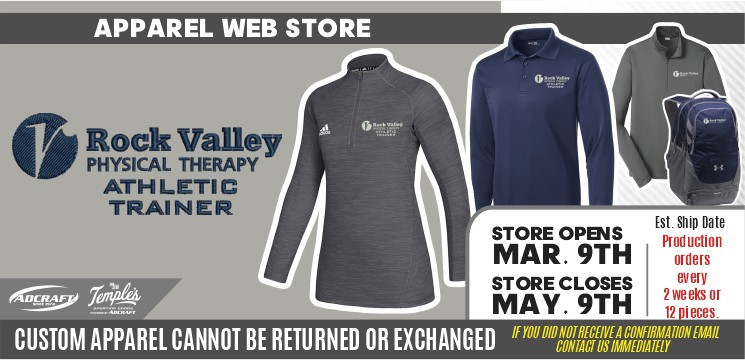 Rock Valley Athletic Trainer Spring 2021