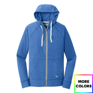 New Era Sueded Cotton Blend Full-Zip Hoodie