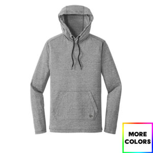 New Era Tri-Blend Performance Pullover Hoodie Tee