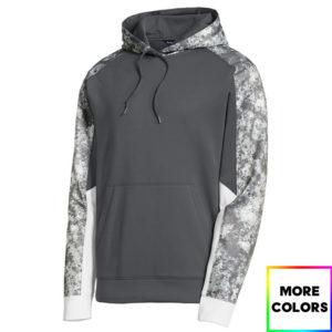 Sport-Wick Mineral Freeze Fleece Colorblock Hooded Pullover