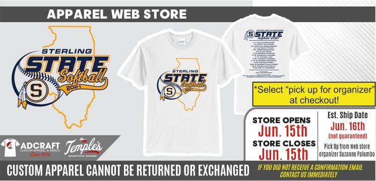 Sterling State Softball 2021