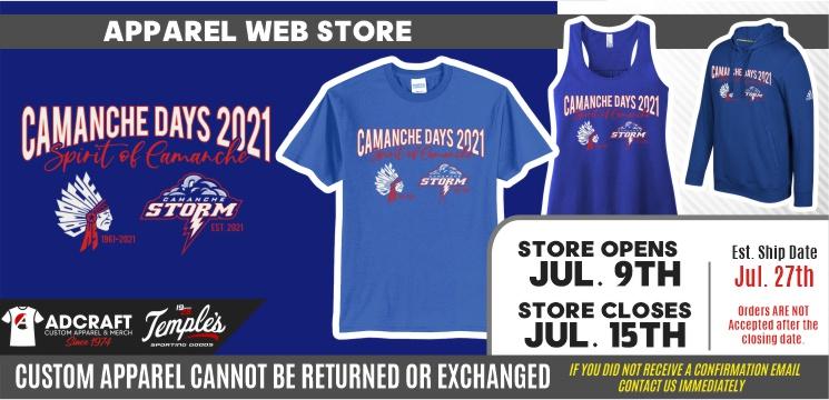 Camanche Days Spirit of Camanche 2021