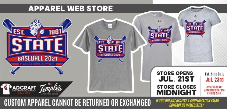 Camanche State Baseball 2021