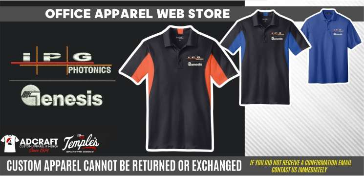 Protected: Genesis Systems Office Apparel Static Web Store
