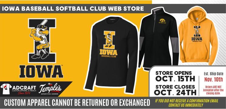 Iowa Baseball Softball Club 2021