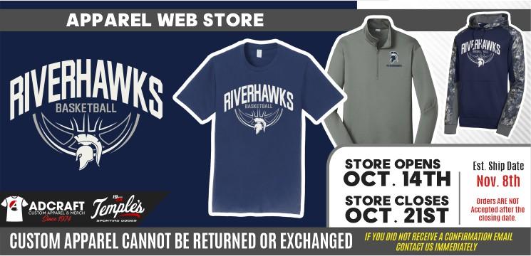 PV Riverhawks Youth Basketball 2021